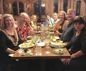 Writers Retreat in Russian River, California. Left to right: my lovely wife, Roxanne, me, Shawn McGuire, Toby Neal, Corinne O'Flynne, Amy Allen, Janet Oakley, Ron Logan and Erin Finigan.